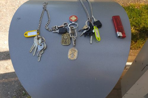Schlüssel gefunden!