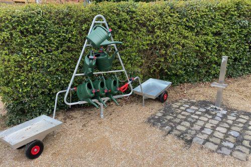 Erneuerung Wasserversorgung /-entnahmestelle am Friedhof
